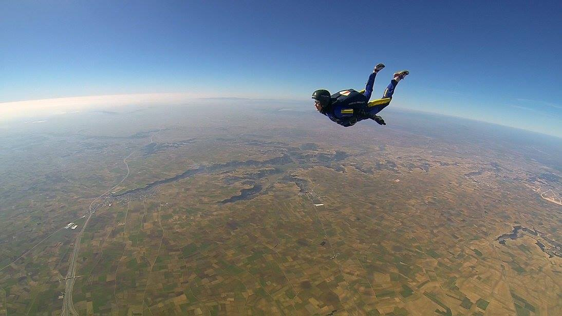 skydiving osteopath