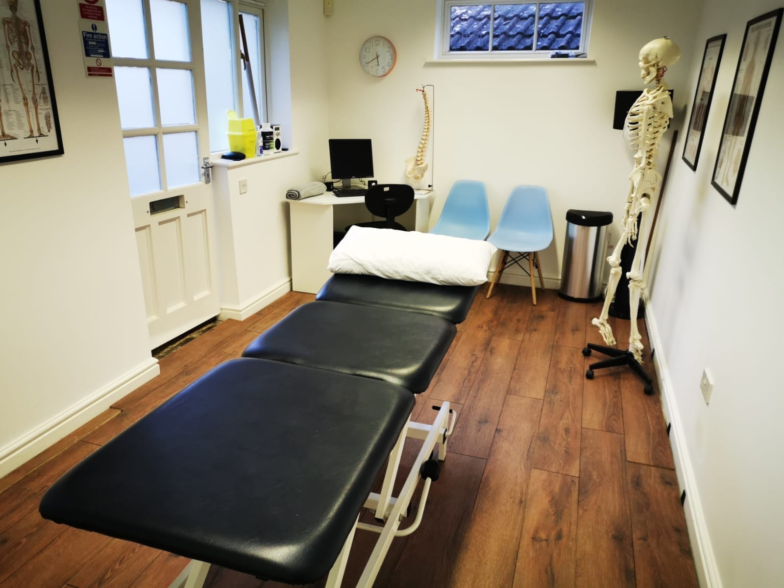 New physiotherapy room